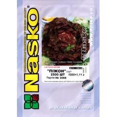 Салат полукочанный Пижон /2 500 штук семян/